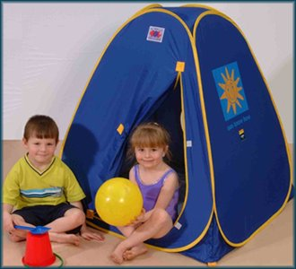Blue pop up baby Beach Play sun shade shelter tent  sc 1 st  Jacksons-C&ing & Pop up beach tents and UV sun shelters