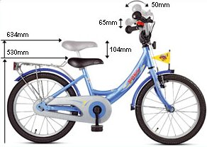 Puky Bike Childrens Puky Bicycles Kids Zl18 Bikes Toy Kids First