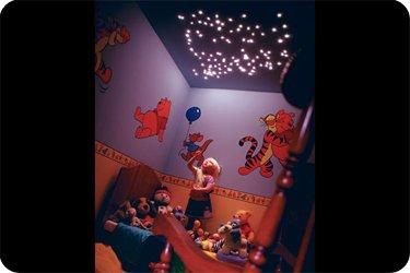 FIBRE OPTIC TWINKLING STAR EFFECT CEILING LIGHTS MEDIUM LIGHTING EBay