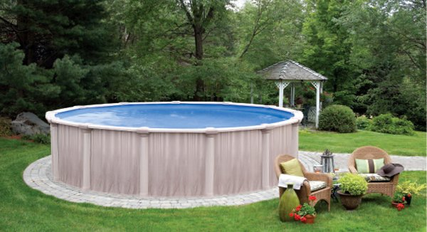 Swimming pool garden  Oracle Above Ground Swimming Pools
