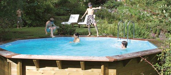 Premium Octagonal Timber Swimming Pool