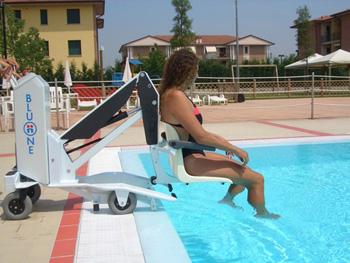 Blu One Portable Swimming Pool Lift Hoist
