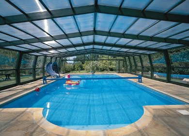 Swimming Pool Cover Enclosure