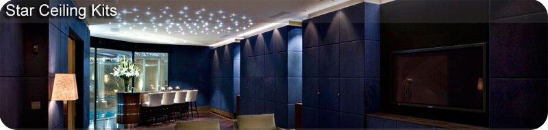FIBRE OPTIC TWINKLING STAR EFFECT CEILING LIGHTS LARGE LIGHTING KIT EBay