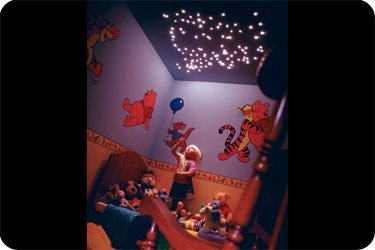 Fibre optic star lighting ceiling kits small childrens bedroom with cluster of lights in ceiling cafe aloadofball Images