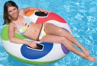 Superior Colour Whirl Swimming Pool Inflatable Tube