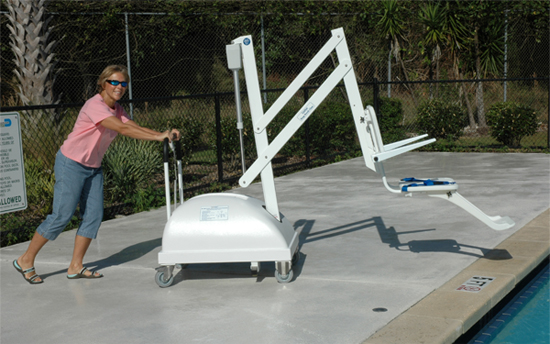 swimming pool lifts and hoists uk