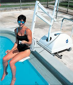 Portable Disabled Swimming Pool Hoists
