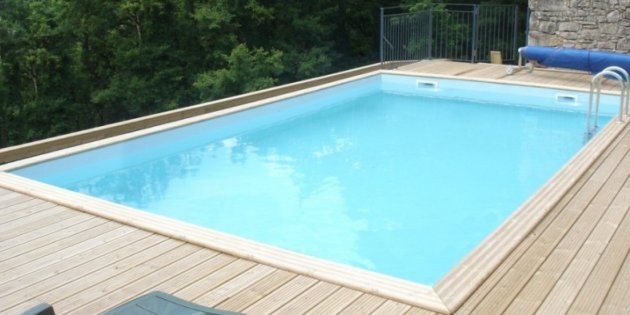 Gardi Above Ground Wooden Swimming Pools