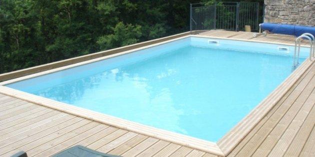 Gardi Above Ground Wooden Swimming Pools