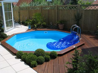 Superior Gardi Wooden Pool With Decking Pool Thats Been Sunk